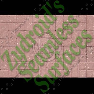 SRF brick paving bricks texture
