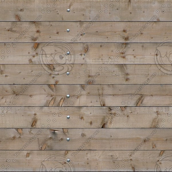 WD168 wooden fence wall