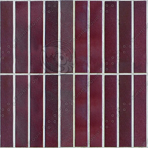 T038 maroon wall tiles texture