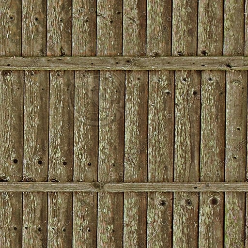 F004 wooden fence texture