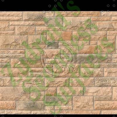 SRF ashlar sandstone wall blocks texture