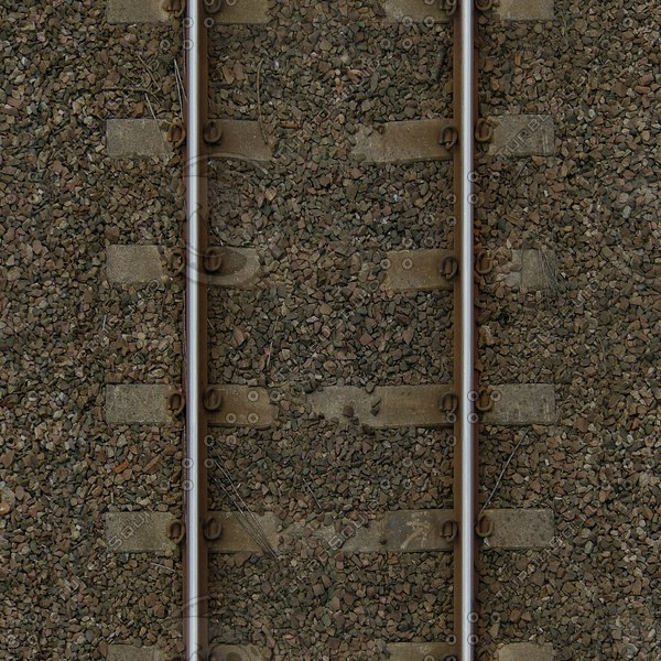 G365 railway railroad track texture