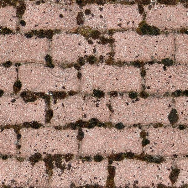 G366 red brick paving texture