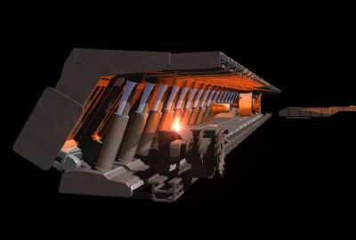 longwall miners 3d model - LongWall Miner... by Infinite3dfx