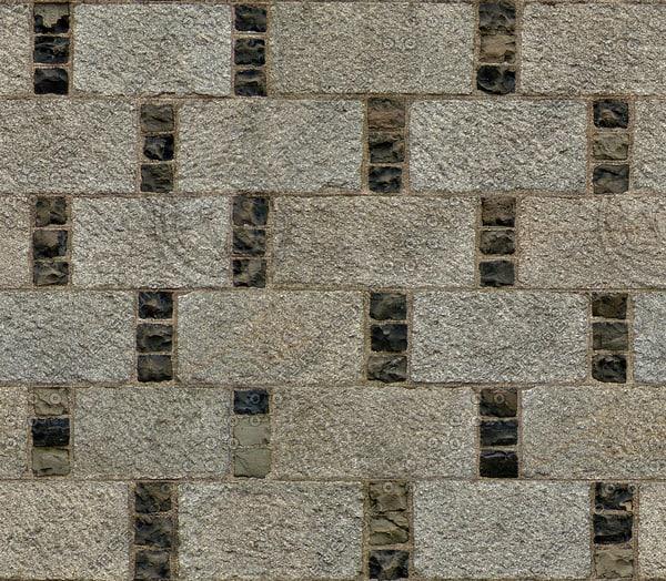 BL142 large stone blocks wall texture