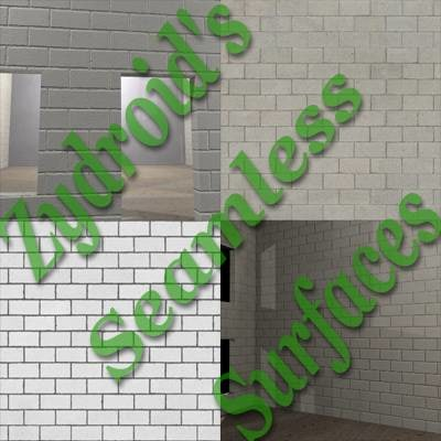 SRF white cinder blocks breezeblocks texture