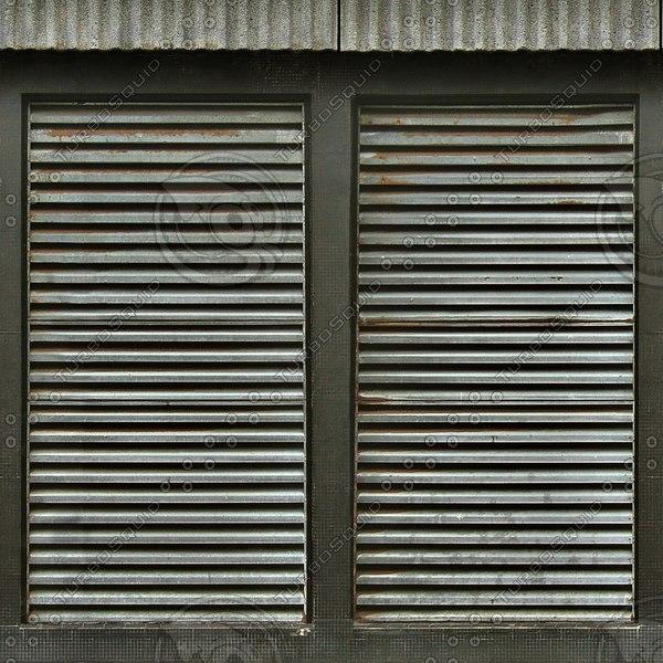 W058 metal wall vents texture