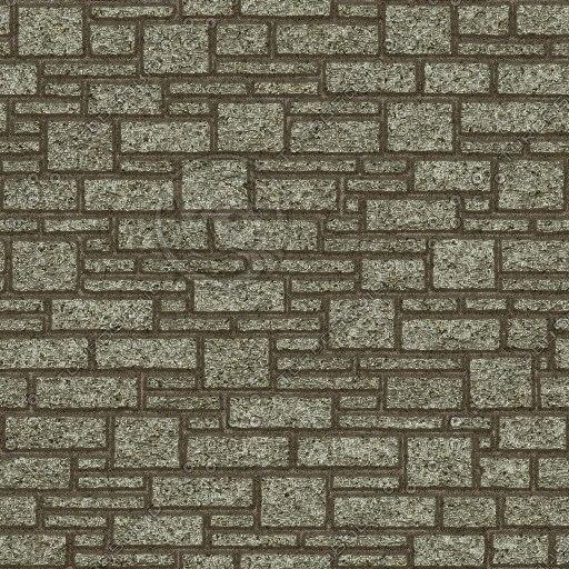 BL032 ashlar stone wall texture