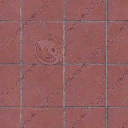 T007 red floor tiles texture