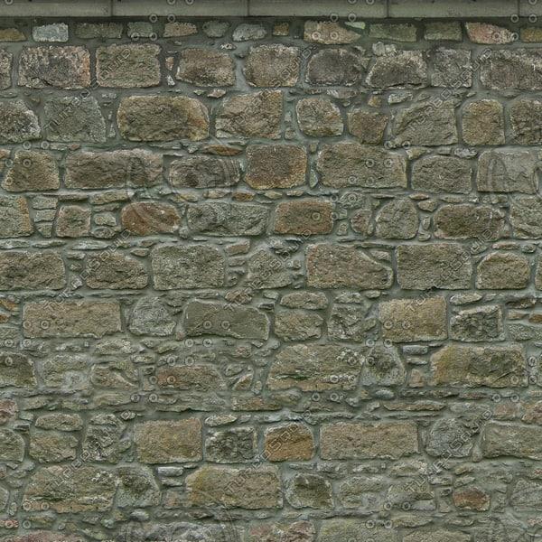 W421 granite stone wall