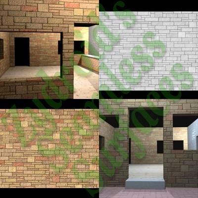 SRF ashlar wall blocks texture