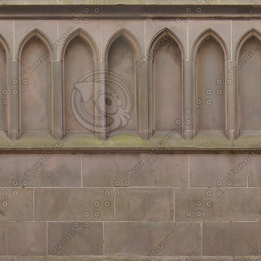 W040 sandstone wall church texture