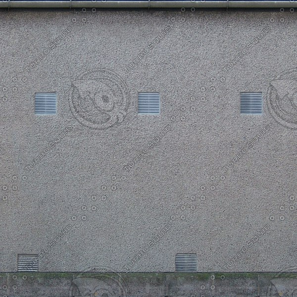 W140 stucco cement wall