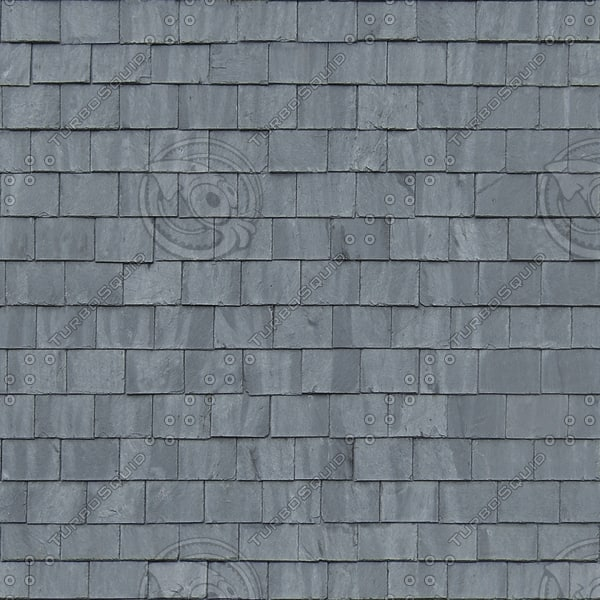 R058 blue slate roof texture