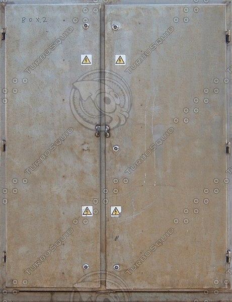D157 metal door texture