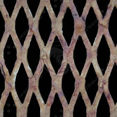 MSC030 painted wire fence texture