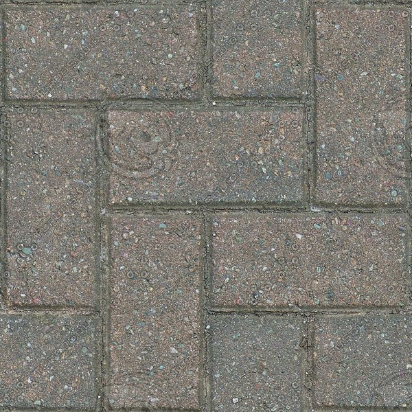 G312 weathered brick paving