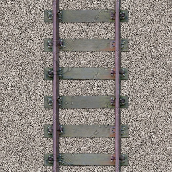 G046 railway railroad tracks