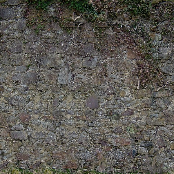 W275 old castle wall texture