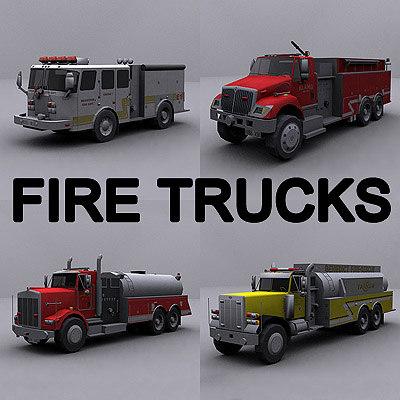 ready truck 3d model