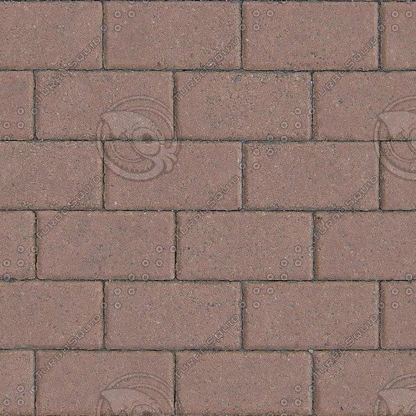 G347 sidewalk brick paving texture