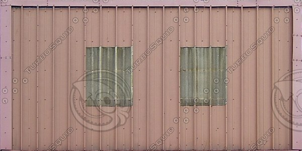 R103 metal warehouse roof texture