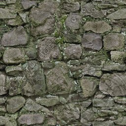 UPW03 weathered stone wall