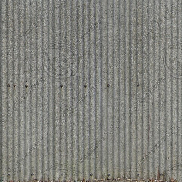 W390 corrugated wall fence texture