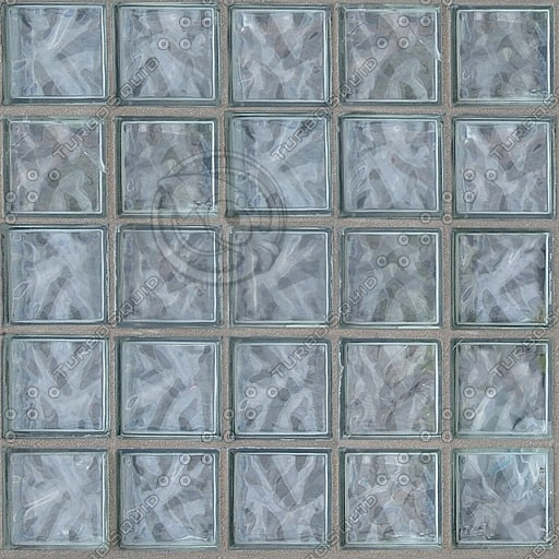 T032 glass block window tiles texture