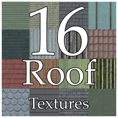 UPCR16 roof texture collection