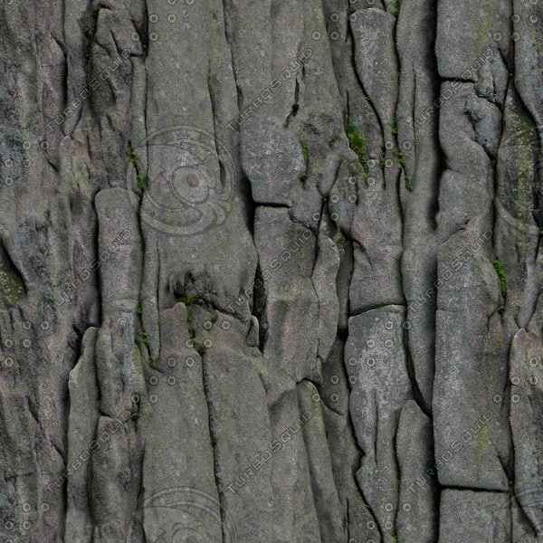 RS057 rock wall face texture