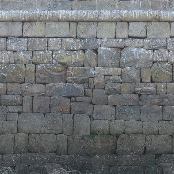 W054 large stone blocks wall texture
