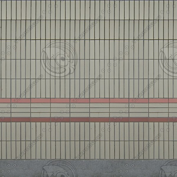 W366 tiled subway wall texture
