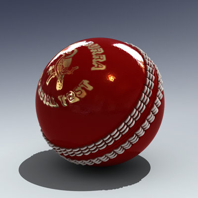 Cricket Ball and Wicket
