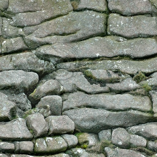 RS082 rock face wall texture