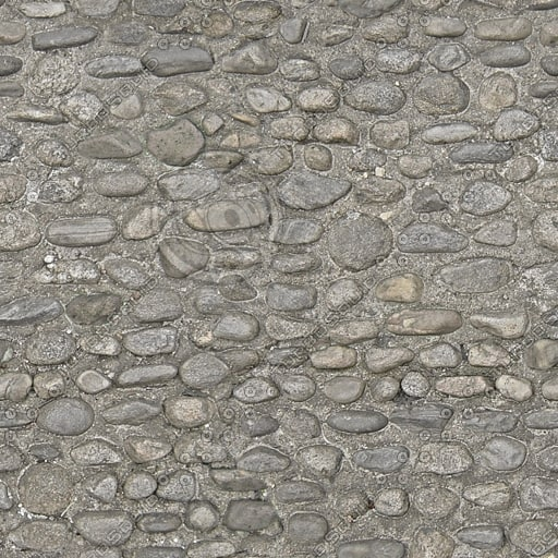 G041 cobbled street road texture 512