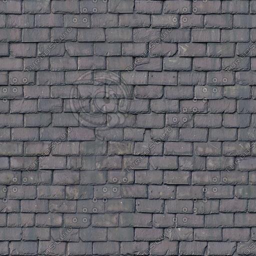 R079 seamless slate roof texture