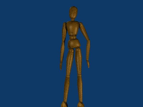 dummy 3d model
