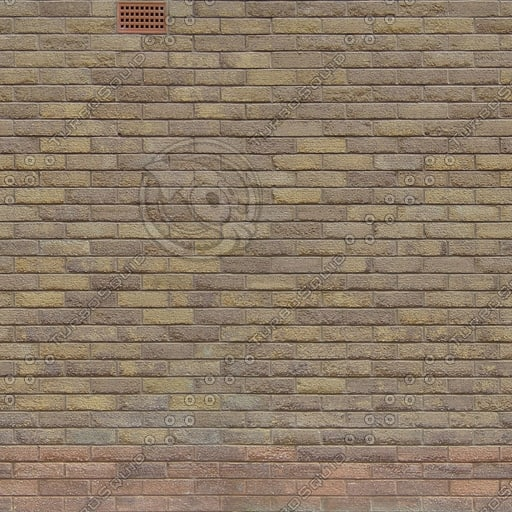 W318 brick wall yellow