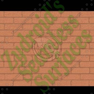 SRF bricks brick wall texture with bump map