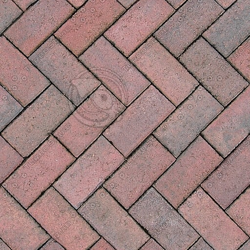 G171 red paving bricks
