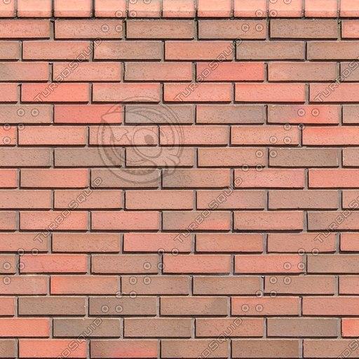 W038 red bricks brick wall texture