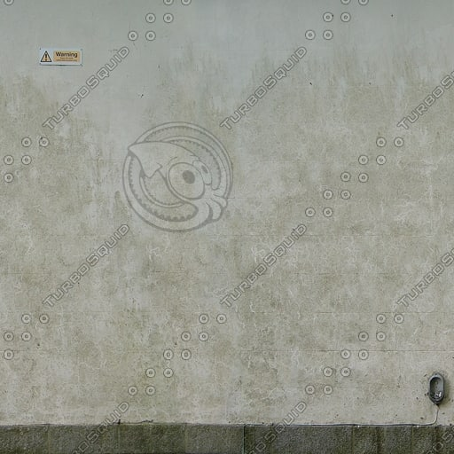 W312 stucco concrete wall