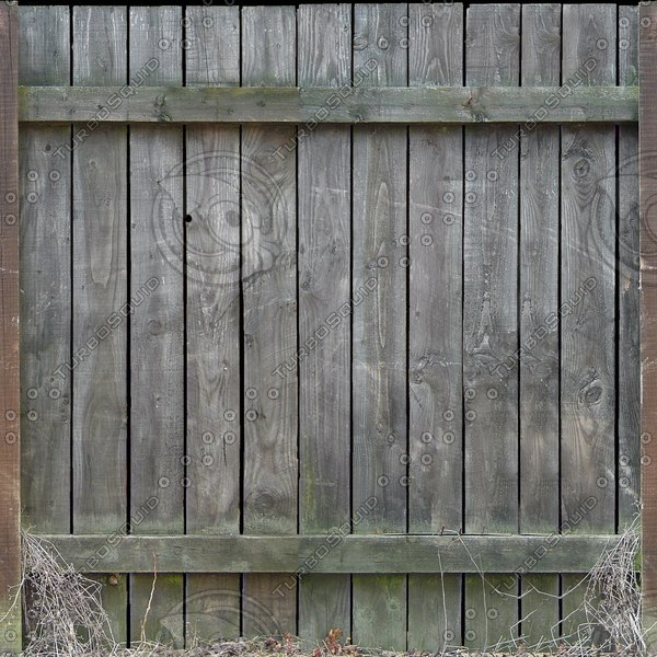 F023 old wooden fence texture