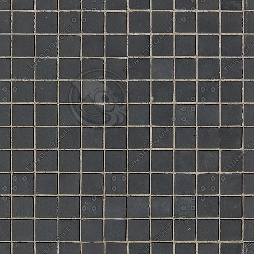 T009 small black tiles texture 512
