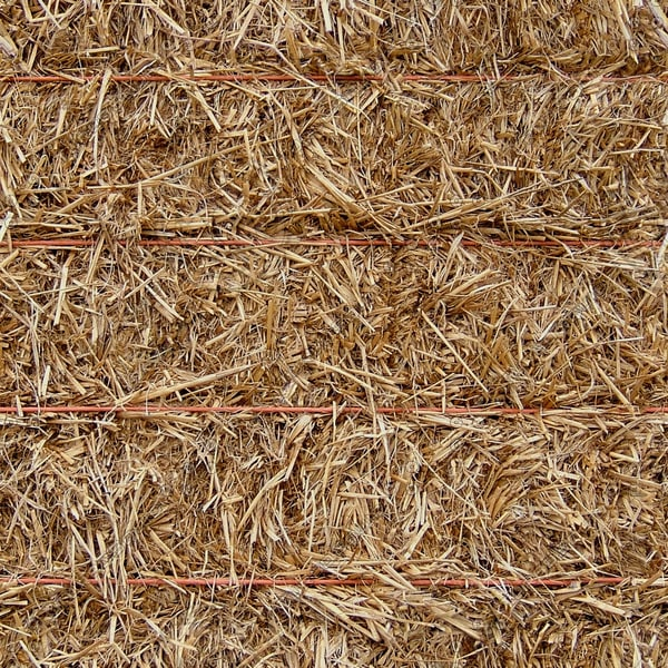 MSC023 Haystack hay bale straw texture