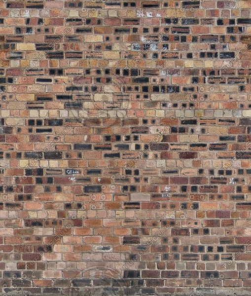 W284 brick wall bricks high resolution Large