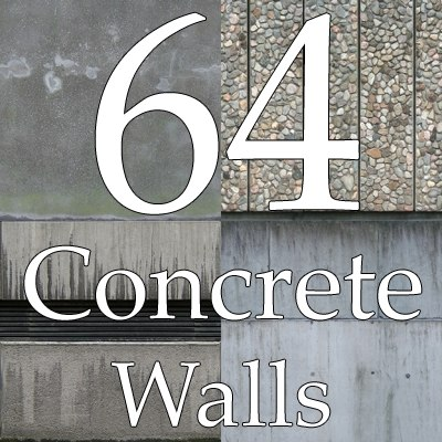 concrete wall collection textures