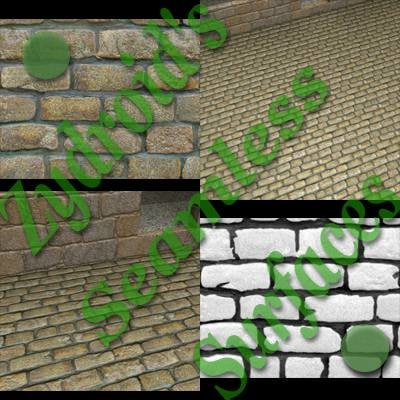 SRF brown cobblestones texture