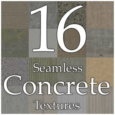UPCC16 concrete texture collection
